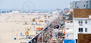 Photo of the Ocean City Beach