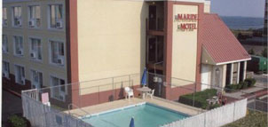 Maridel Motel aerial view