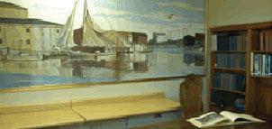 Brannock Education & Research Center interior