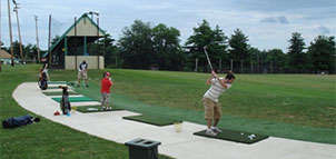 Driving Range at Mitchells Golf Complex