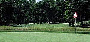 Green at Potomac Ridge Golf Course