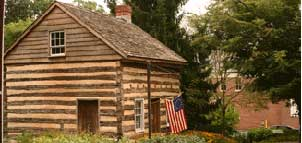 Thomas Issac Log Cabin