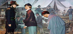 Exhibit at the National Museum of Civil War Medicine