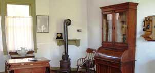 Stonestreet Museum interior