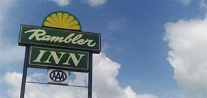 Rambler Inn Sign