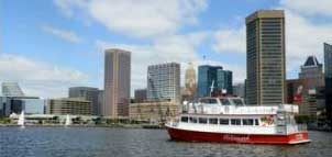 Cruise in the Baltimore Harbor