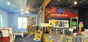 Chesapeake Children's Museum interior