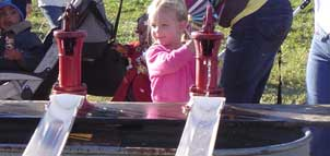 Child at Summers Farm
