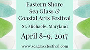 Eastern Shore Sea Glass & Coastal Arts Festival Logo