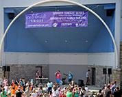 Theatre performance at Summerfest