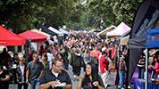 In the Street Festival in full swing.