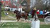 Sotterley Plantation at Christmas with Horse & Carriage