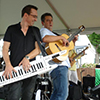 Two Jazz Musicians Perform at the Festival