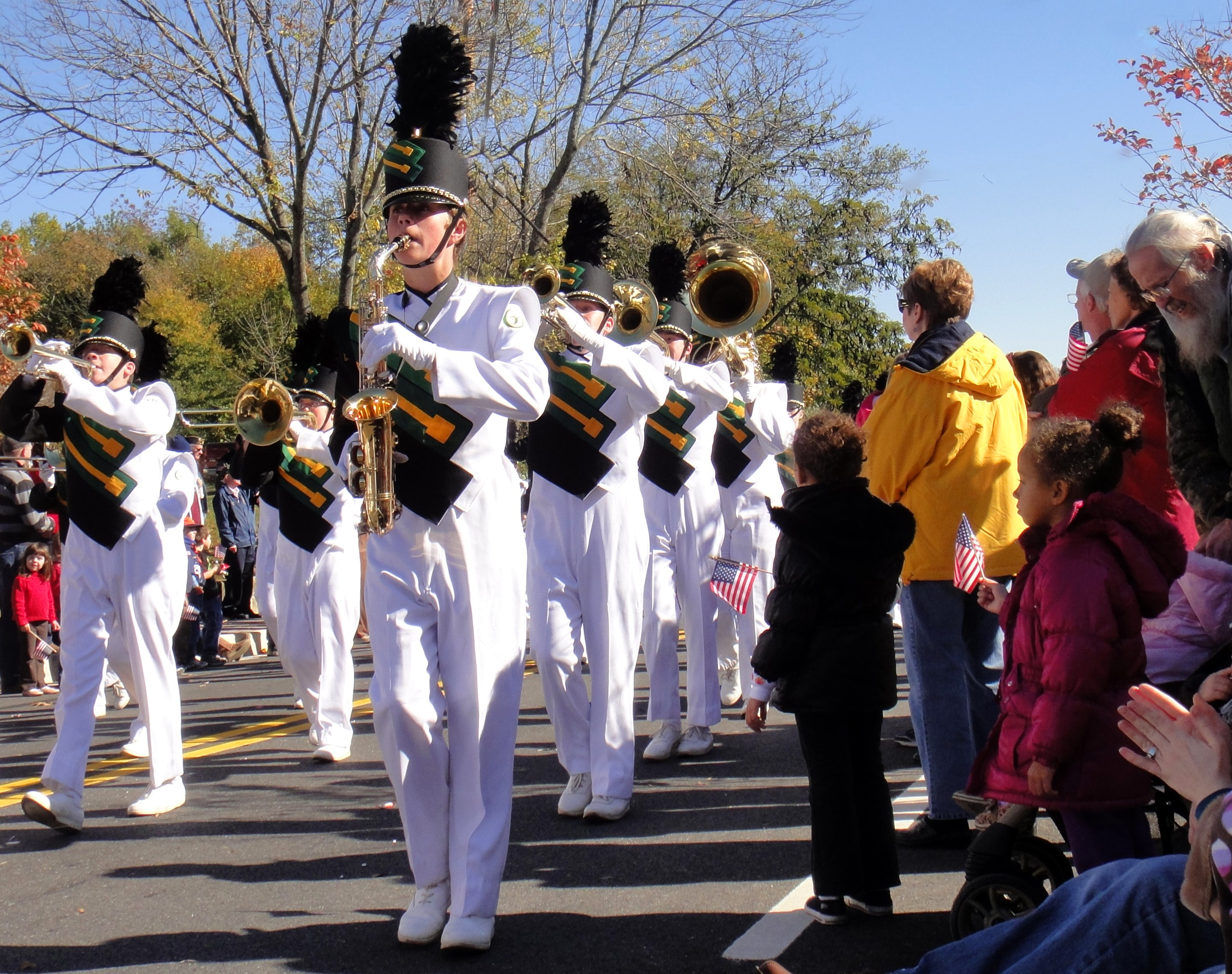 One of the largest Veterans Day Parades in MD