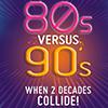 80's vs. 90's cruise logo