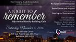 Cade Foundation Family Building Gala flyer
