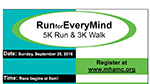 Run for Every Mind flyer