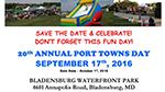 Port Towns Day Festival flyer