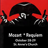 Mozart's Requiem with the Annapolis Chorale flyer