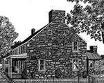 Engraving: Jacob Hess House, Keedysville