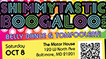 Shimmytastic Boogaloo flyer
