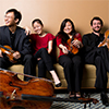 Photo of the Zora String Quartet