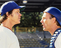 Still image from Bull Durham with Kevin Costner