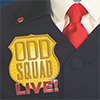 Odd Squad Live flyer artwork