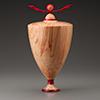Bethesda Row Arts Festival wooden art piece