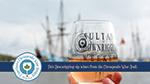 Sultana Downrigging Chesapeake Wine Trail Commemorative stemware