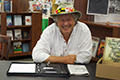 Photo of Jeff Lowman at book signing