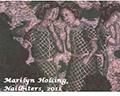Marilyn Holsing/Les Histoires exhibiton poster