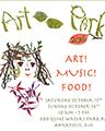 Art-Music-Food Poster Artwork
