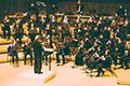 UMD Wind Ensemble on stage