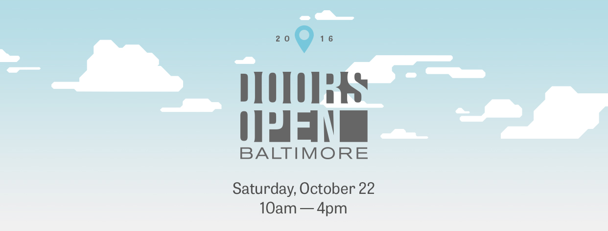 Doors Open Baltimore flyer