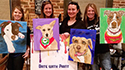 Date With Paint Pet Portraits group photo
