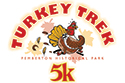 Turkey Trek 5K at Pemberton Historical Park flyer