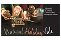 Natural Holiday Sale flyer