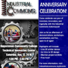 Industrial Commons Makerspace Anniversary flyer