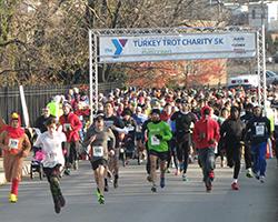 Photo of Y Turkey Trot Charity 5K