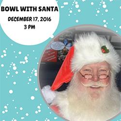 Bowl With Santa flyer