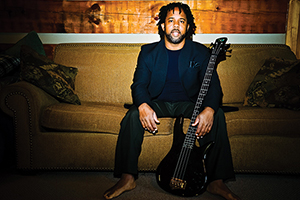 Victor Wooten with guitar