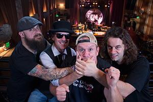 Cowboy Mouth group photo