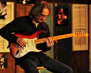 Sonny Landreth with guitar