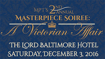 Invitation to Masterpiece Soiree - A Victorian Affair