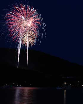 Photo of Fire on the Mountain Fireworks Display