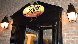 Photo of the Arts by the Bay Gallery entrance