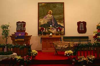 Pleasant Walk United Methodist Church Altar