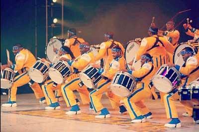 Drumline Live on stage