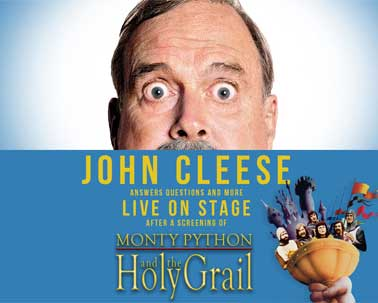 John Cleese Live on Stage poster